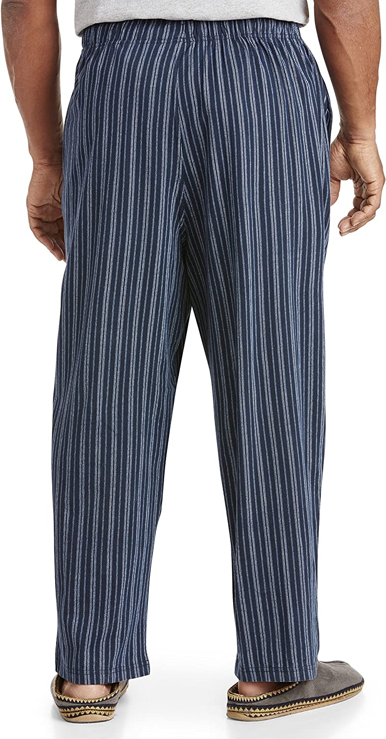 Harbor Bay by DXL Big and Tall Stripe Knit Pants