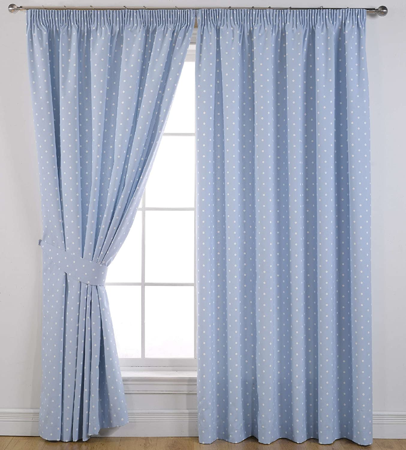 clearwater coastal curtains multi ascot p treatment striped x valance layered window cool blue