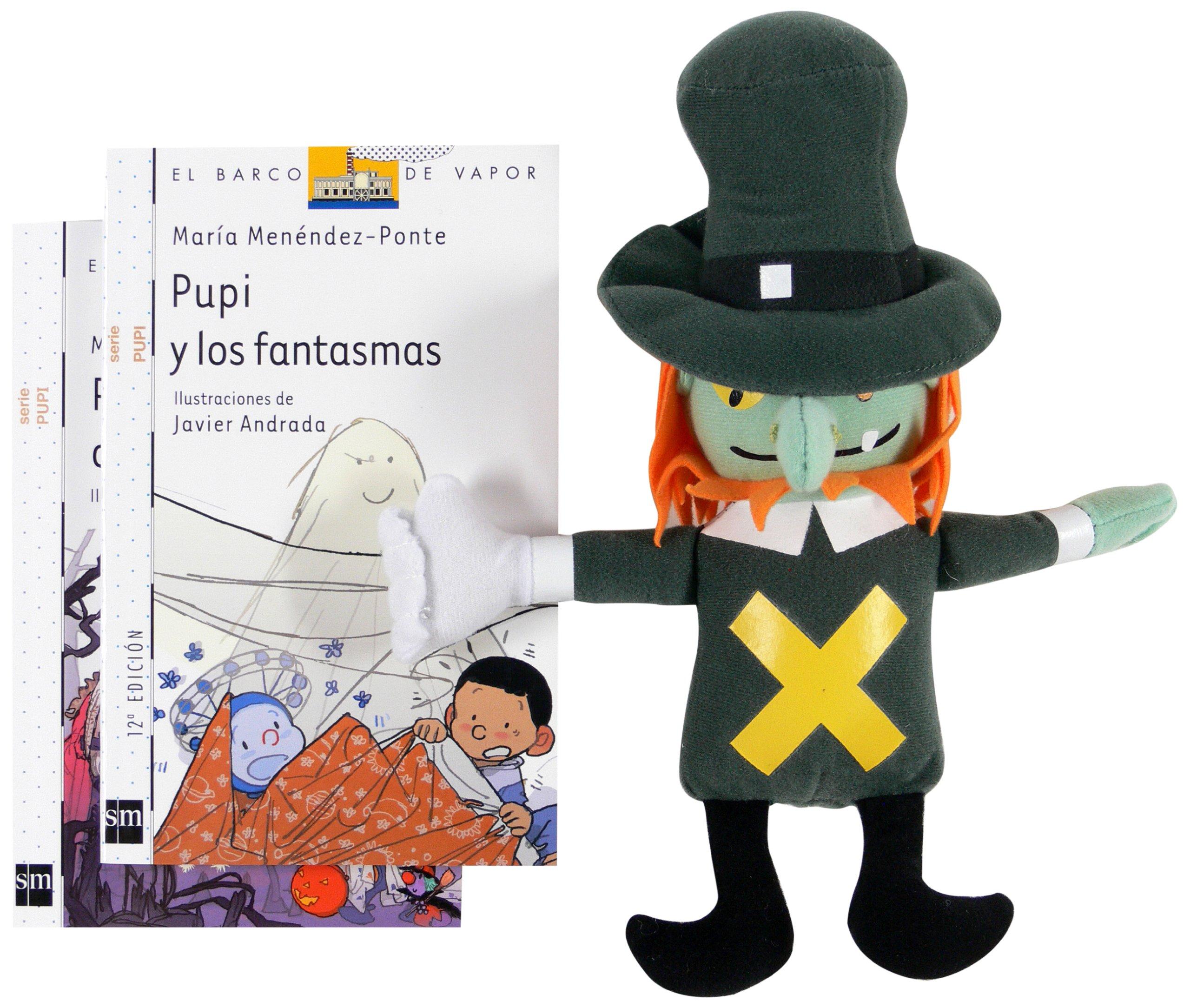 Pack Pinchón con mascota (Barco de Vapor Blanca): Amazon.es ...