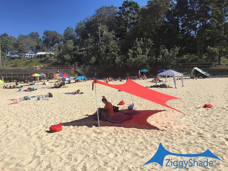 ZiggyShade Beach SunShade/Beach Shade Canopy