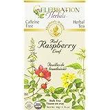 Celebration Herbals Red Raspberry Leaf C/S Tea Organic Loose Pack, 40Gm