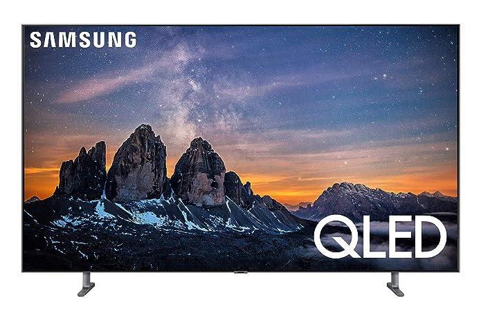 SAMSUNG 55u0022 Class 4K Ultra HD (2160P) HDR Smart QLED TV QN55Q80R (2019 Model)