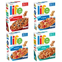 Deals on Quaker Life Breakfast Cereal 3 Flavor Variety Pack