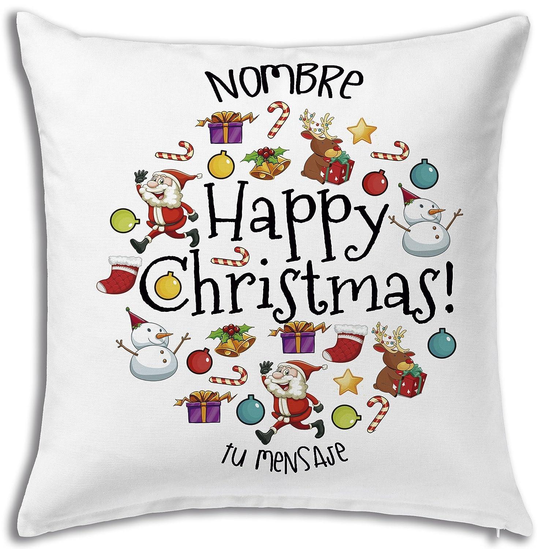 Cojín 40 x 40 personalizados regalos únicos para navidad ...