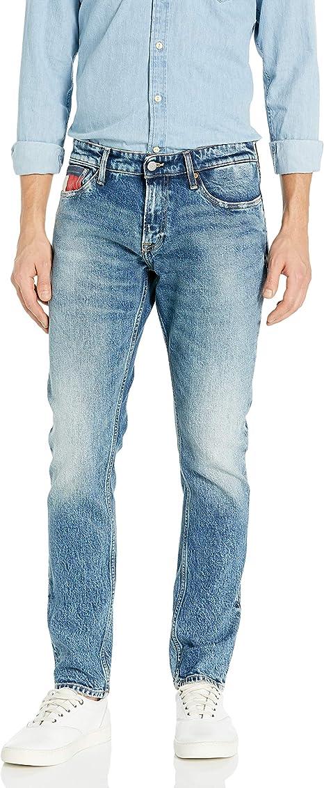 Tommy Hilfiger Mens Original Scanton Slim Fit Jeans
