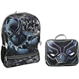 Marvel Black Panther Backpack With Lunch Kit Backpack