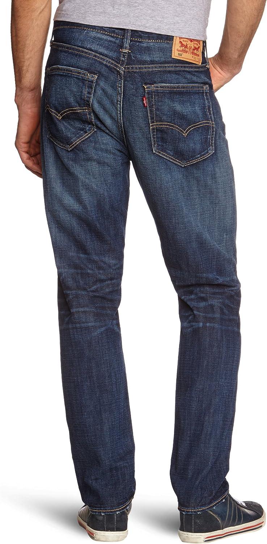Levi's 16508-0001 - Vaqueros para Hombre Azul (Quincy Waterless 0039)