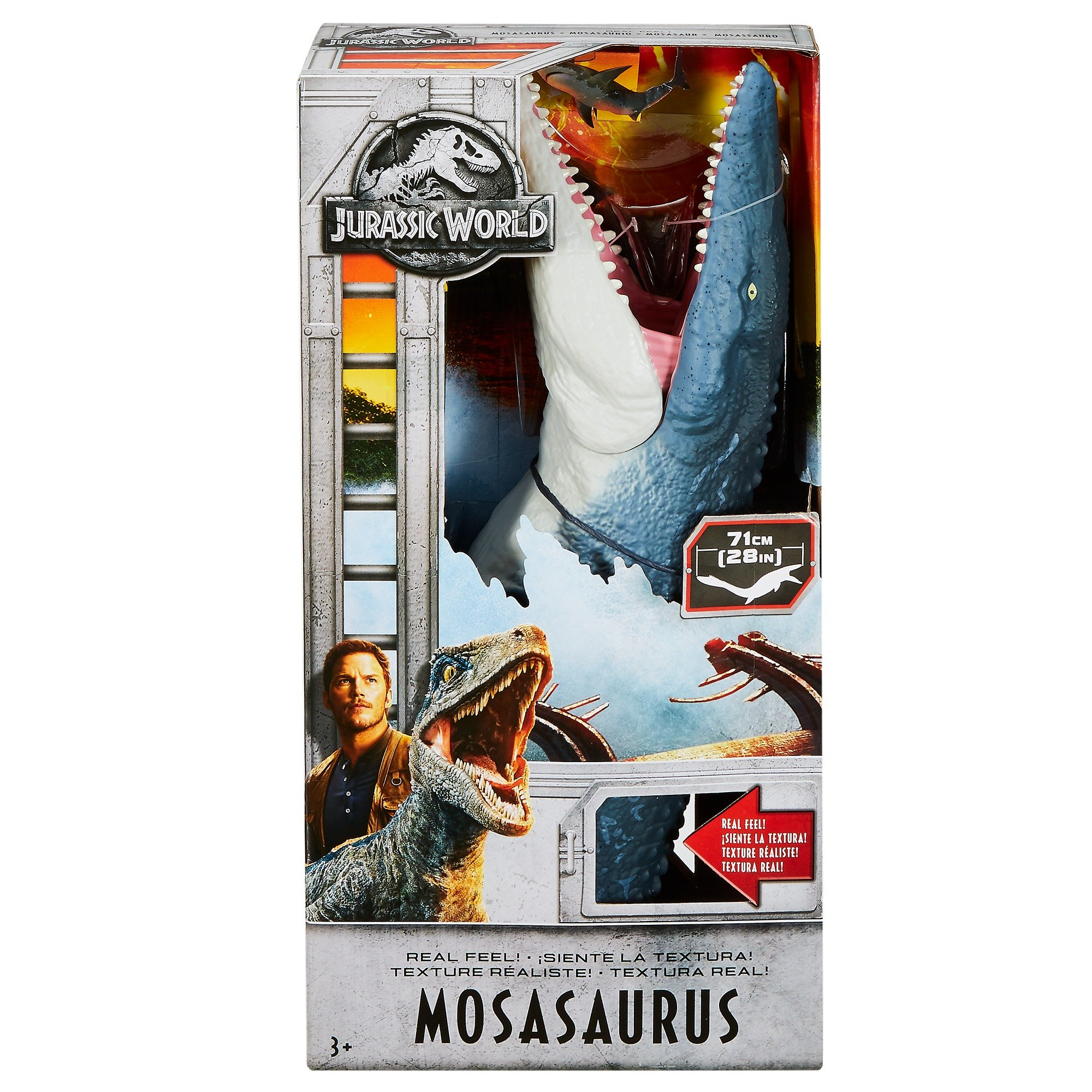 Jurassic World Real Feel Mosasaurus Figure by Jurassic World Toys (Image #5)