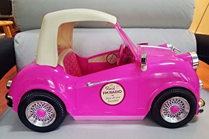 Our Generation In The Drivers Seat Retro Convertible Cruiser Car For 18 Inch Dolls By