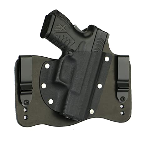 FoxX Holsters Springfield XDM 3 8 9/40/45 In The Waistband Hybrid Holster  Tuckable, Concealed Carry Gun Holster