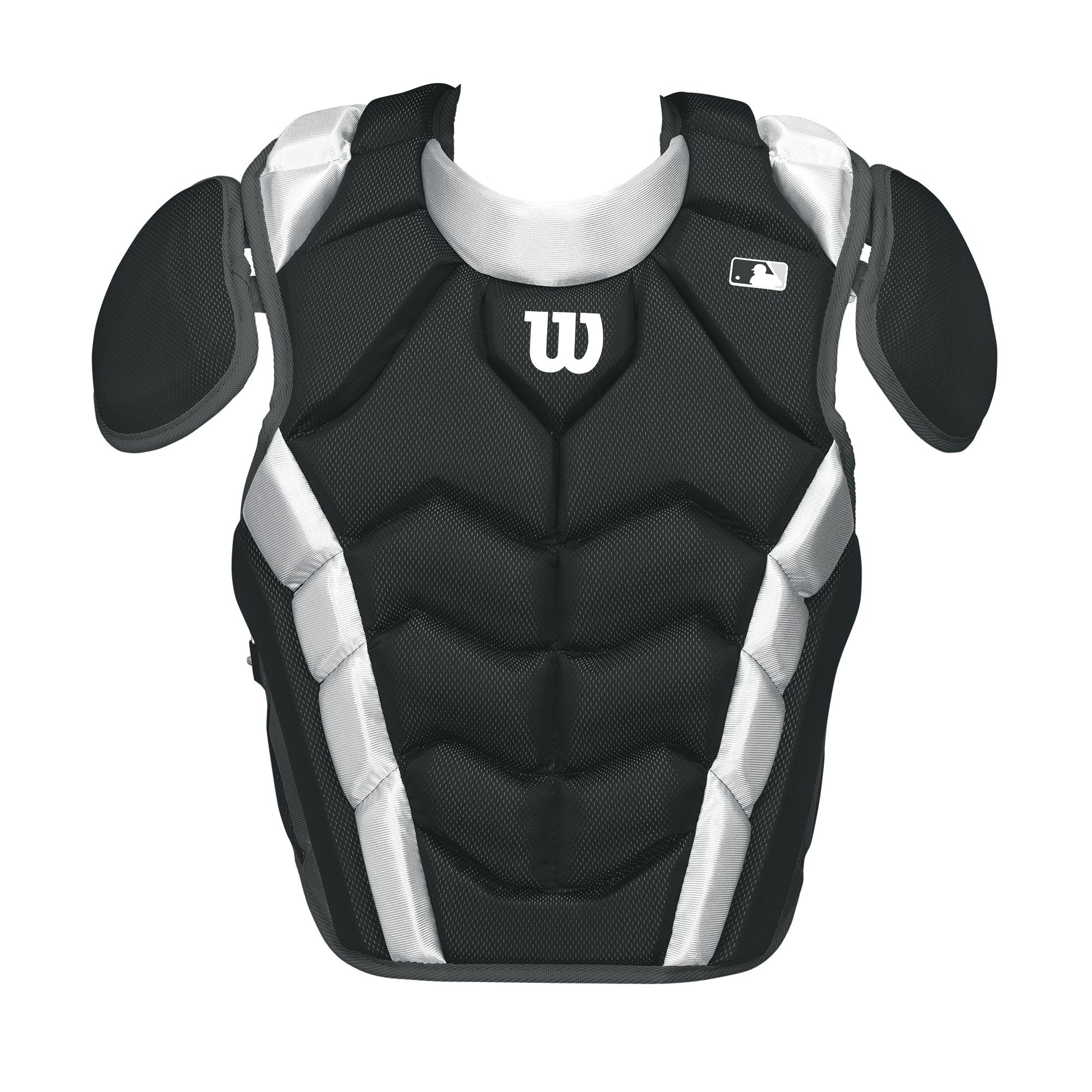 Wilson Pro Stock Chest Protector, Black, 15.5''