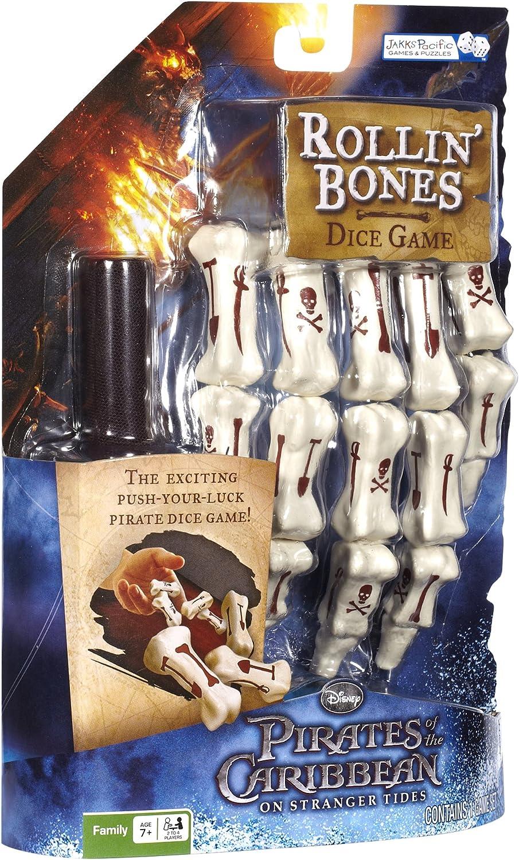 Pirates Rollin Bones Dice Game