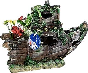 Pen Plax Sunken Gardens Shipwreck Bow, Large