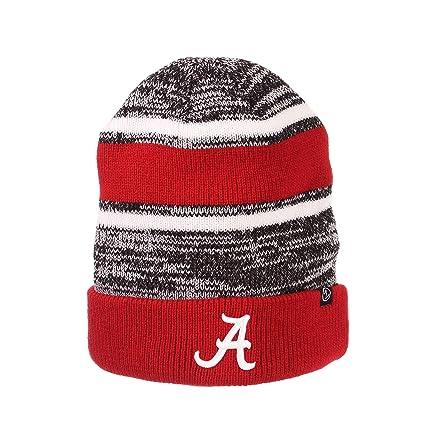 Amazon.com   Alabama Crimson Tide Official NCAA Slush Cuffed Knit ... 59de8d27a296