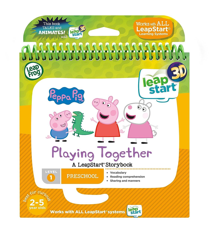 LeapFrog 460403 3D é tage Livre Peppa Pig Jouet, Multi, Taille Unique Vtech Electronics
