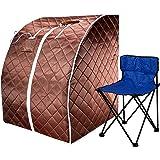Amazon.com: Durherm. Sauna portátil extragrande para ...