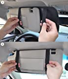 CD Visor Organizer for Car 12 Pocket CD Visor