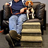 Penn-Plax 3 Step Carpeted Pet Stairs for Both