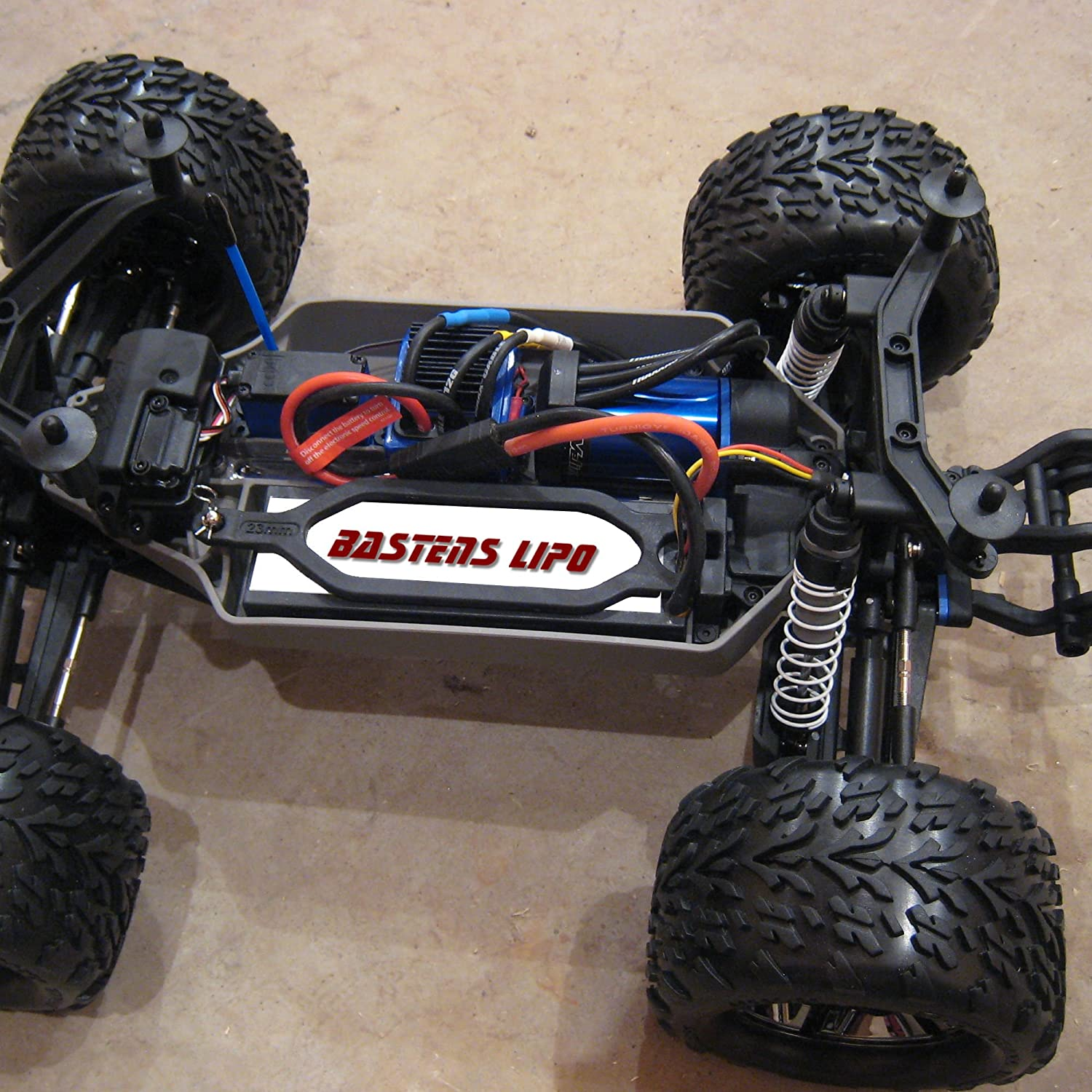 Amazon Bastens LiPo 7 4V 5000mAH upgrade battery for the Traxxas 2x4 4x4 VXL Raptor Stampede Rustler Bandit Slash XO 1 1 10 E Revo Brushless