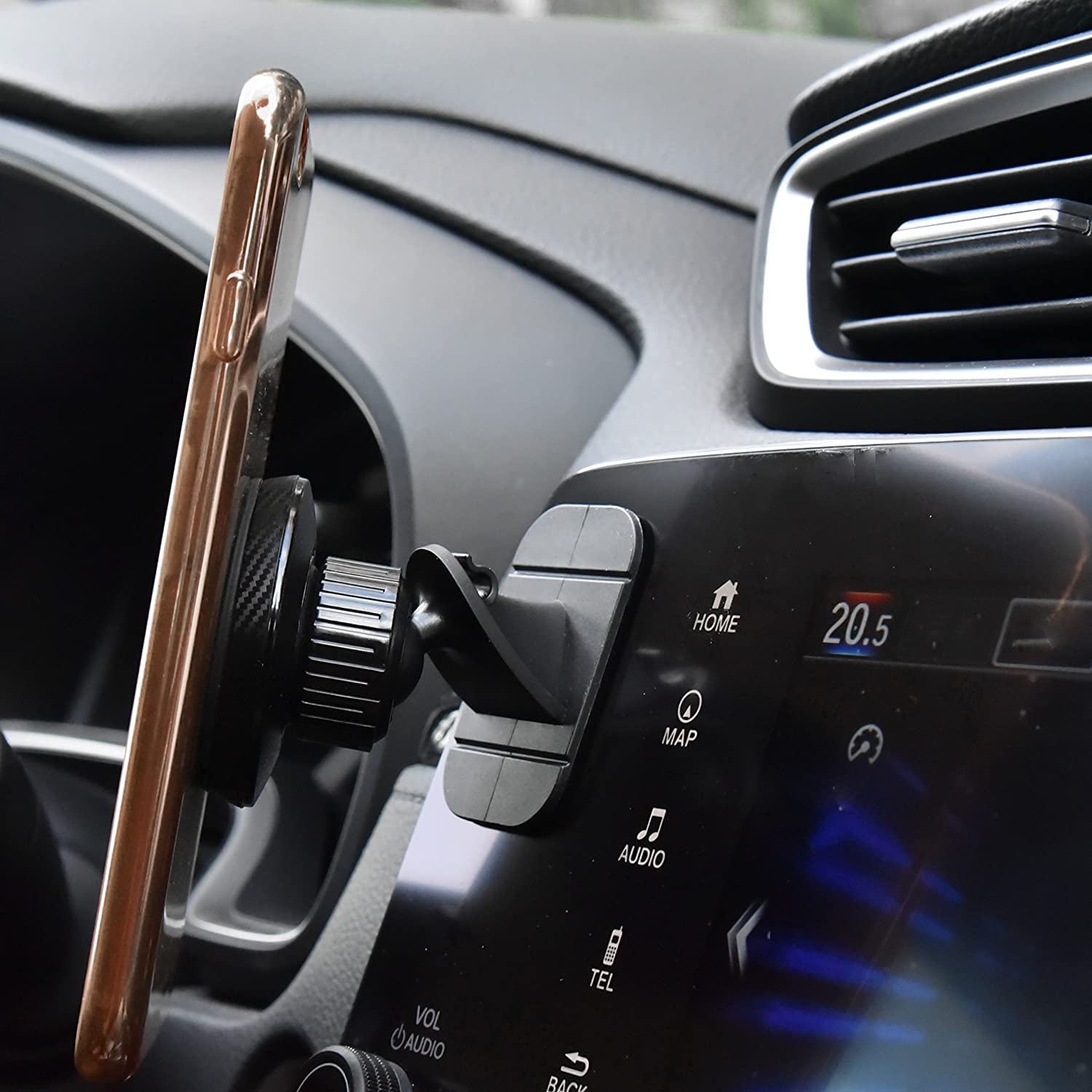 Magnetic Phone Car Mount APPS2Car Universal Cell Phone Holder for Car Built-in Amazing Powerful Magnets,2-in-1 Vent /& Dash Magnetic Phone Car Mount Wiiki-tech M03-T2-AV2S-Lib 6 Powerful Magnets