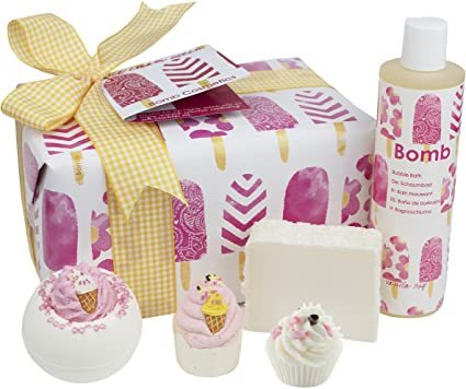 Bomb Cosmetics Pack regalo hecho a mano regalo pack, Helado de la ...