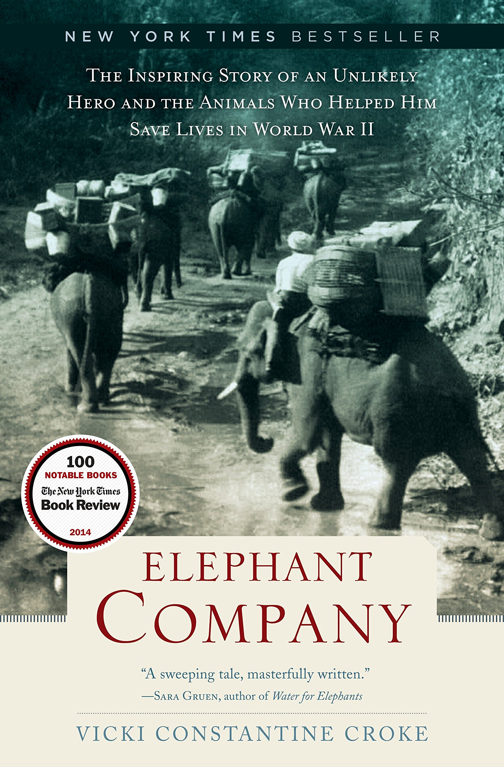 Download Elephant Company: The Inspiring Story of an Unlikely Hero and the Animals Who Helped Him Save Lives in World War II pdf