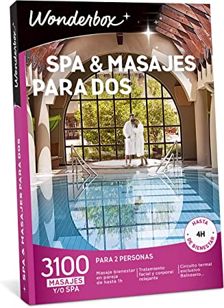 ✅ 1 masaje, tratamiento o spa para 2 personas a elegir entre 3.100 experiencias en España y Andorra,