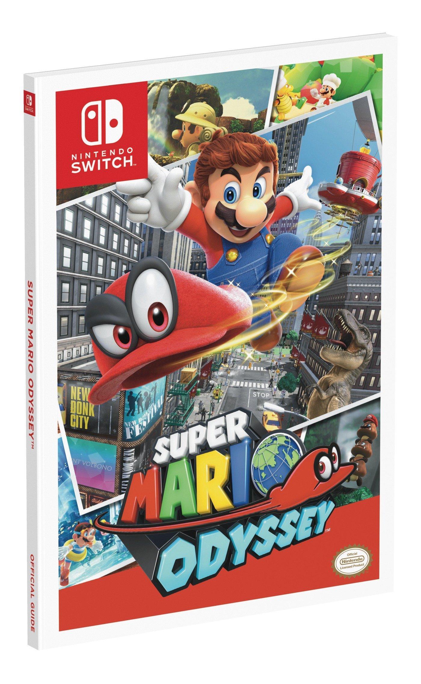 Super Mario Odyssey (Standard Edition): Amazon.es: Prima Games ...