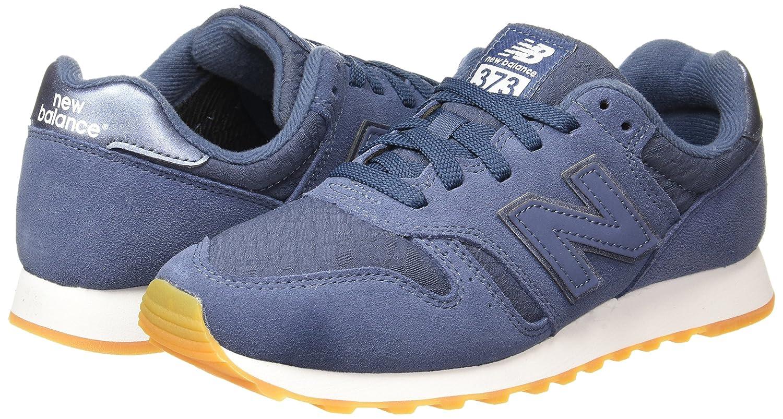 New Balance Damen Damen Balance 373 Sneaker Blau (Navy/Weiß) 5ab424