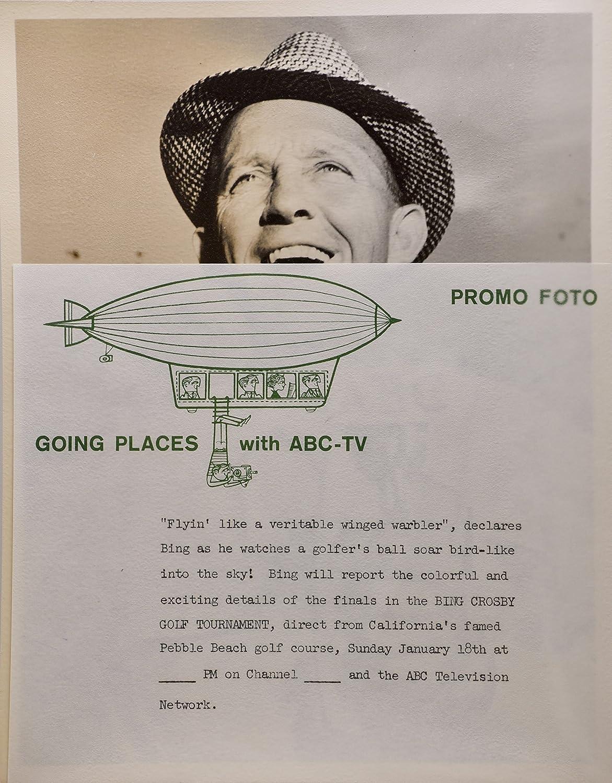 1959 - Bing Crosby - Vintage 7x9 Photograph - Bing Crosby
