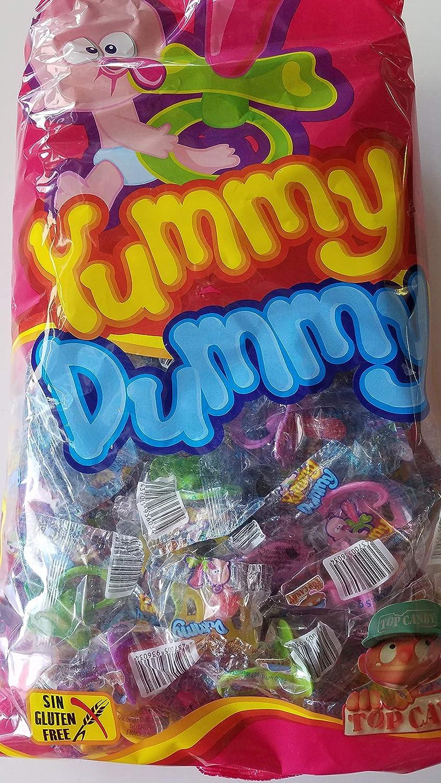 Chupetes de caramelo de 5grs. En bolsas de 100 unidades ...
