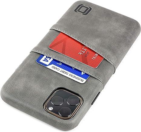 Portacellulare custodia iPhone 6.5'' in pelle Nero cover  Acciaio