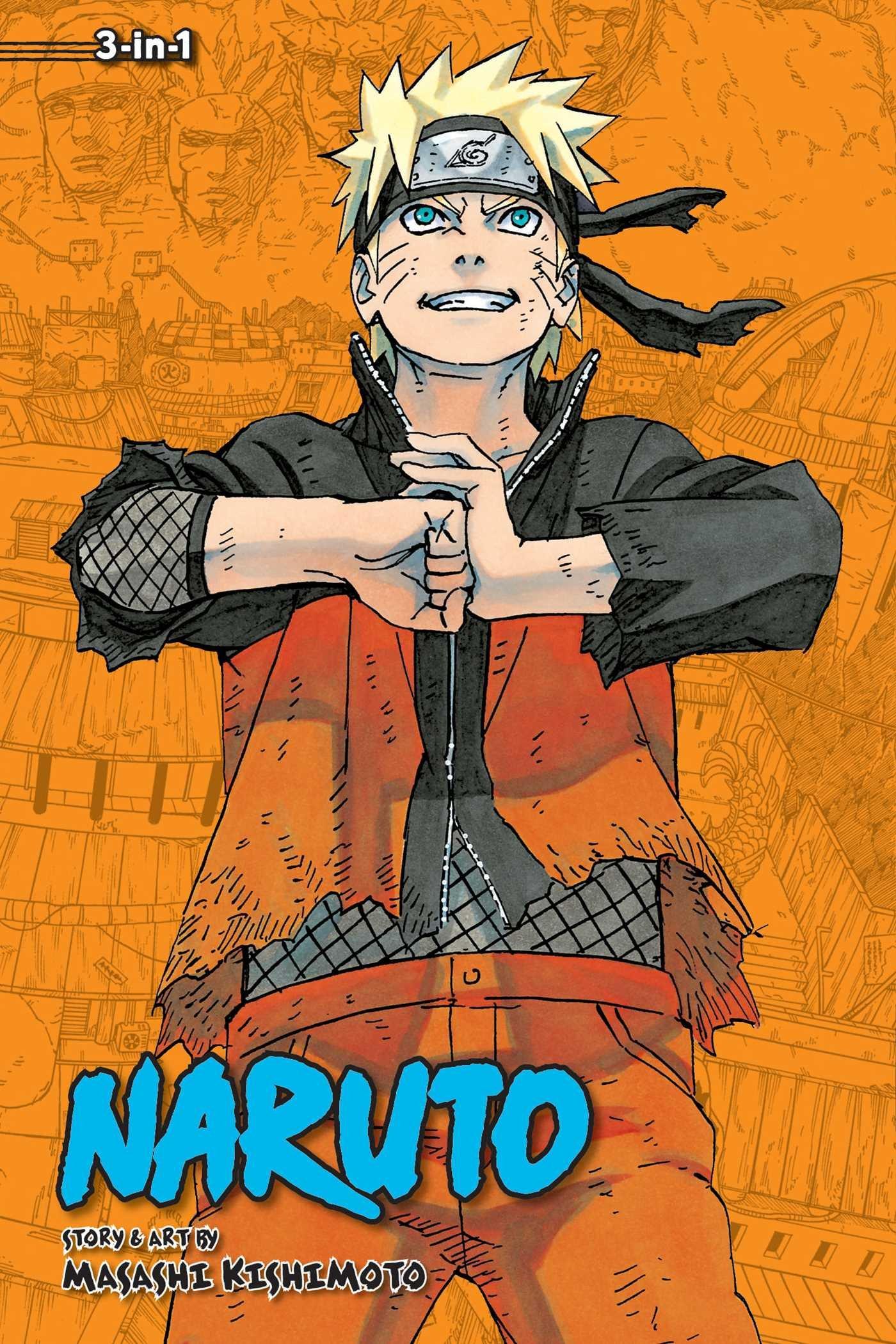 Download Naruto (3-in-1 Edition), Vol. 22: Includes vols. 64, 65 & 66 pdf