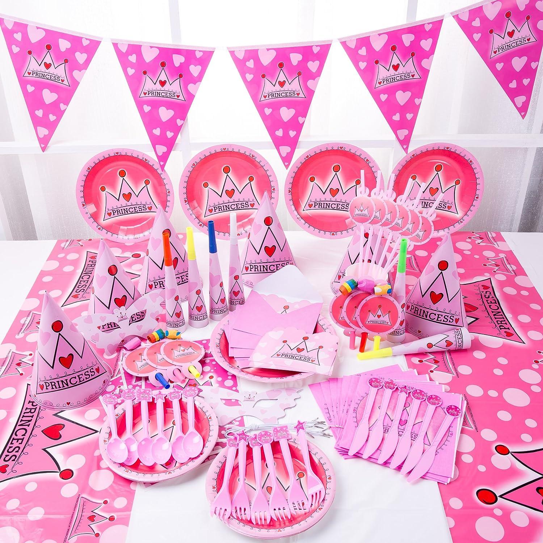 Princess Party Bundles for 6 Guests