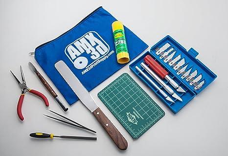 AMX3d Kit de 25 herramientas de impresora 3D – todas las ...