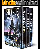 The Savage World Box Set: A Post-Apocalyptic Adventure Series: The Vampire World Saga Books 1-3
