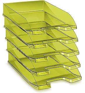 CEP 100 F T - Pack de 10 bandejas portadocumentos, color tonic verde