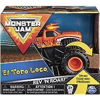 Monster Jam, Official El Toro Loco Rev 'N Roar Monster Truck, 1:43 Scale