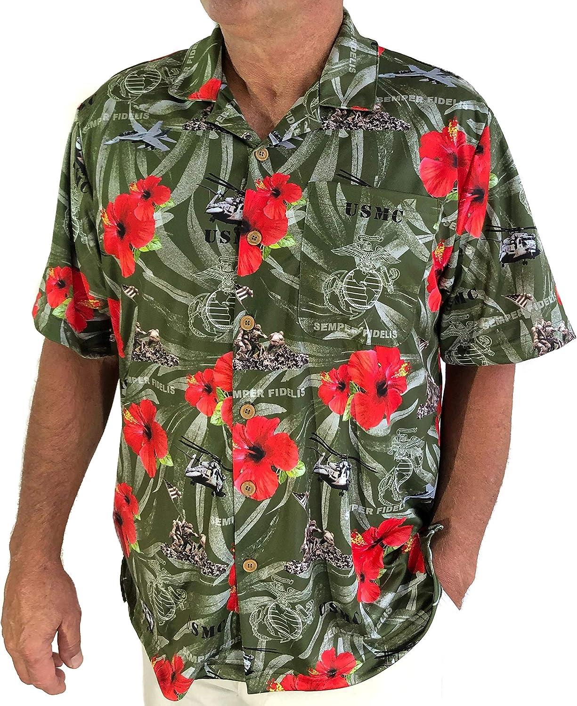 AE Sport Marines Hawaiian Shirt