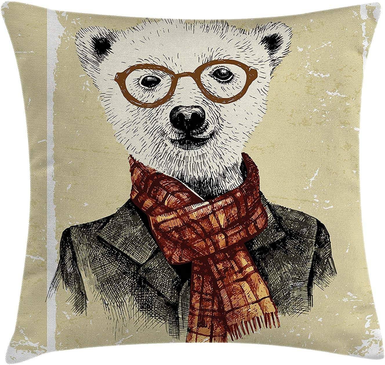 DDOBY Animal Throw Pillow Cushion Cover
