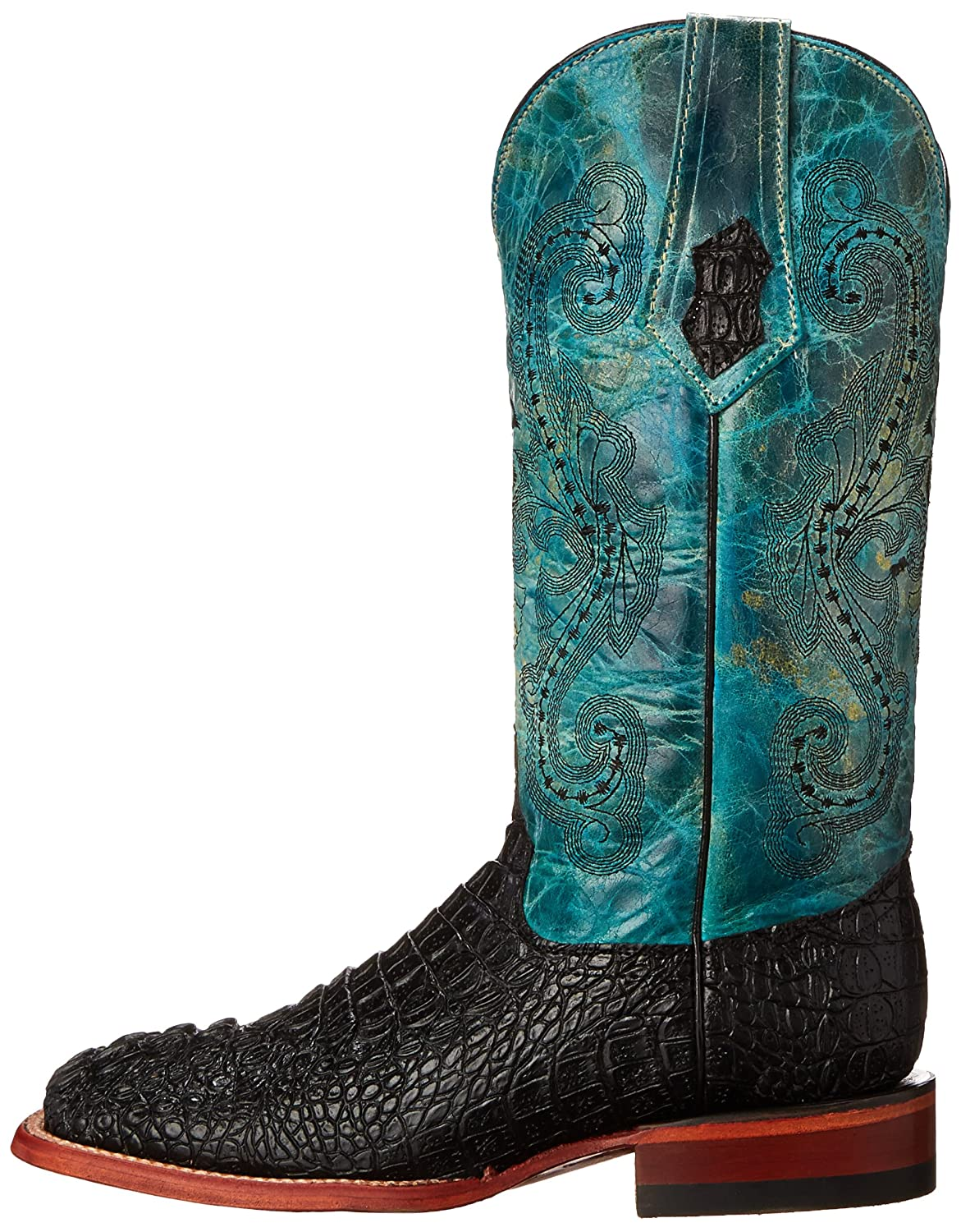 Ferrini Women's Print Caiman BT Western Boot B00SCXUSVS 10 B(M) US|Black