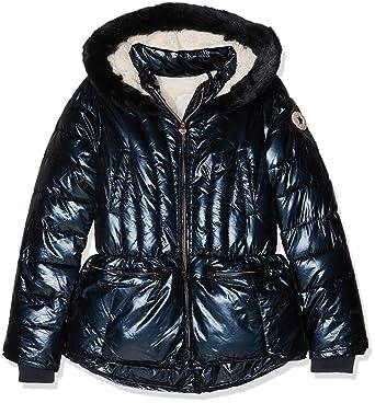 IKKS Doudoune Mi-Longue Navy, Blouson Fille  Amazon.fr  Vêtements et  accessoires 745722eff68