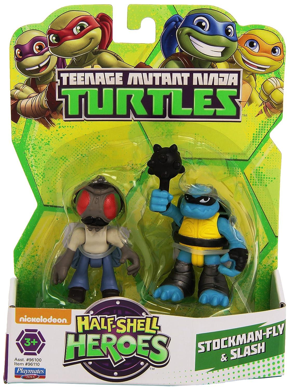 Teenage Mutant Ninja Turtles Stockman-Fly and Slash Héroes ...