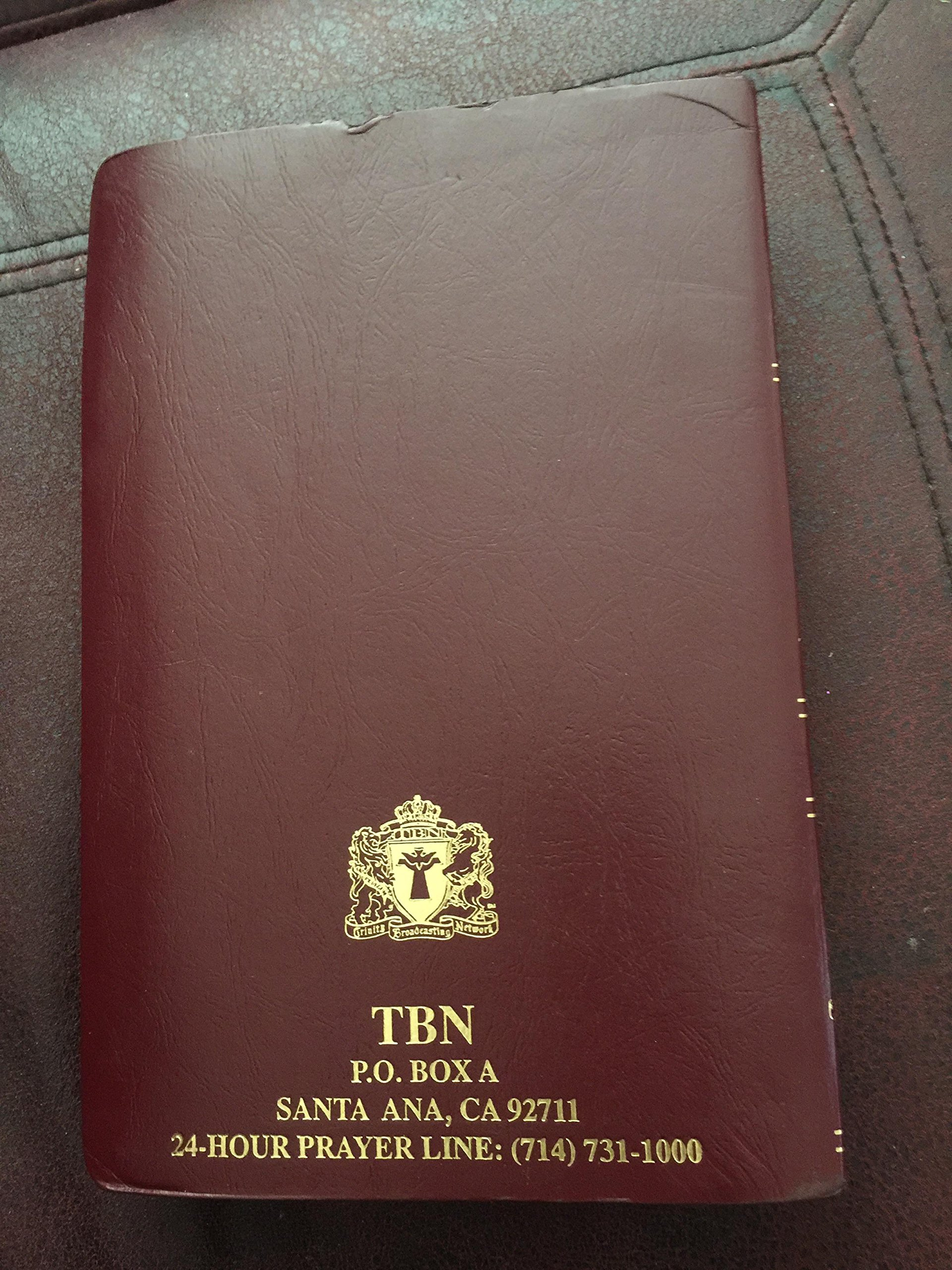 Holy Bible TBN Parallel Edition King James Version and New Living  Translation (TBN Special Edition)
