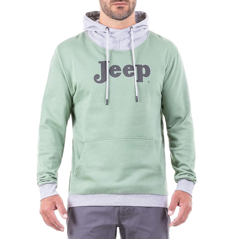 Jeep Herren Hoodie Logo J8w Sweatshirt