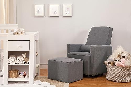 glider nursing chair and footstool DaVinci under $500