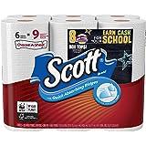 Scott Paper Towels Choose-A-Sheet, White, 6 Mega Rolls