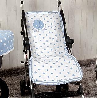 Colchoneta para silla de paseo universal flor roja con ...