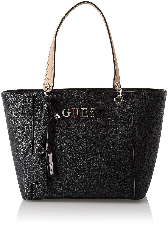 Guess - Kamryn, Bolsos totes Mujer, Negro (Black/Bla), 42x26.5x15 cm (W x H L): Amazon.es: Zapatos y complementos