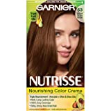 Amazon Price History for:Garnier Nutrisse Nourishing Hair Color Creme, 53 Medium Golden Brown (Chestnut) (Packaging May Vary)